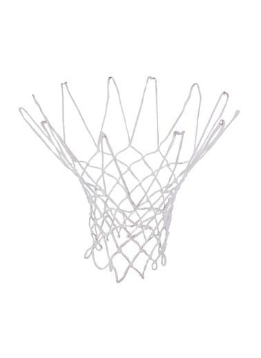Selex Selex Kalın Floş İÇ ve Dış Alanda Kullanıma Uygun Basketbol Filesi Beyaz